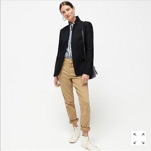J. CREW Black Regent Blazer Wool 10